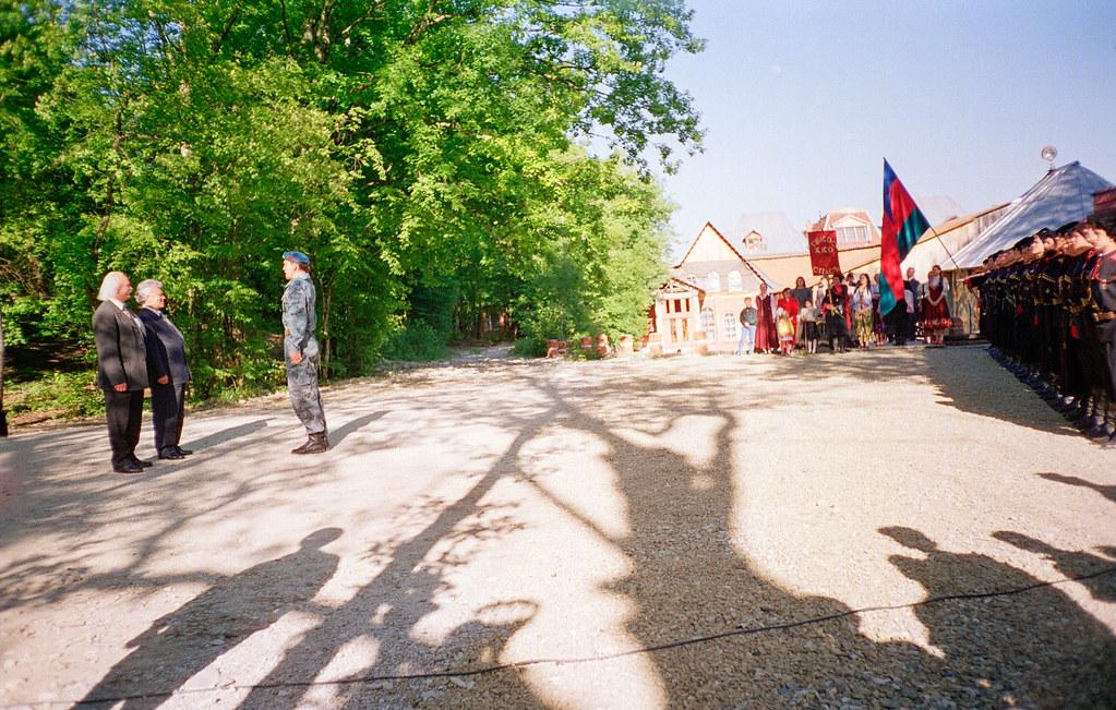 15 мая 2000 года первый Президент Республики Саха (Якутия) М.Е. Николаев посетил  школу Щетинина