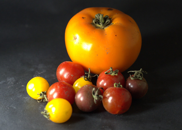 Heritage tomato collection