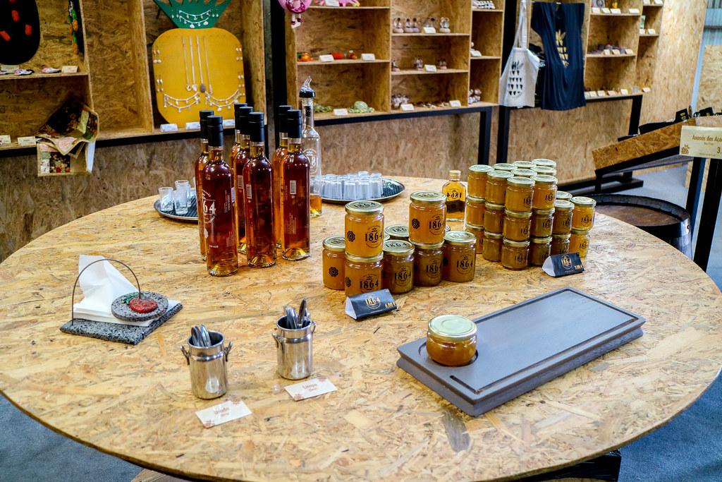 Con las piñas de Azores se elaboran licores y mermeladas