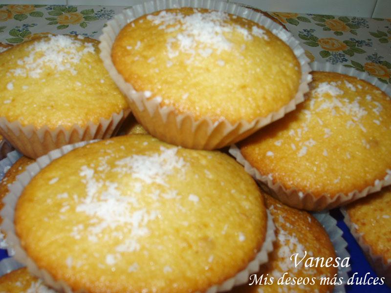 muffins de coco y piña00