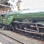 Flying Scotsman at Preston station