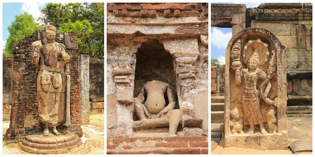 Buddha statues, Polonnaruwa