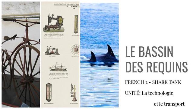 French 2 - Shark Tank Activity