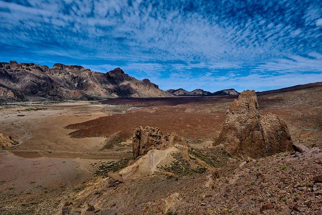 The surroundings of Teide