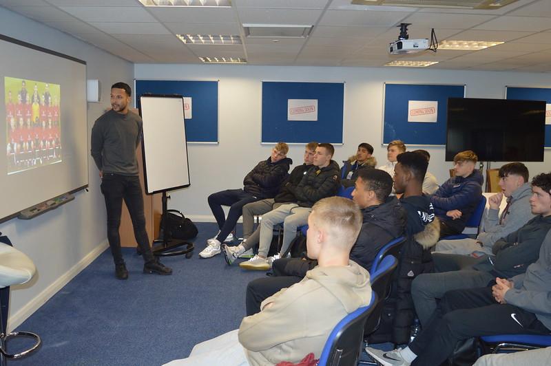 Joe Thompson Bolton Wanderers Life Skills (2)