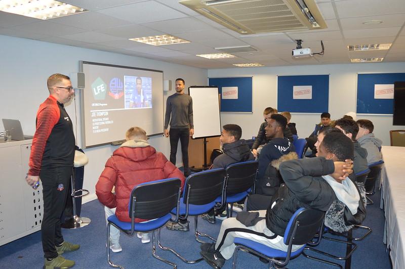 Joe Thompson Bolton Wanderers Life Skills (1)