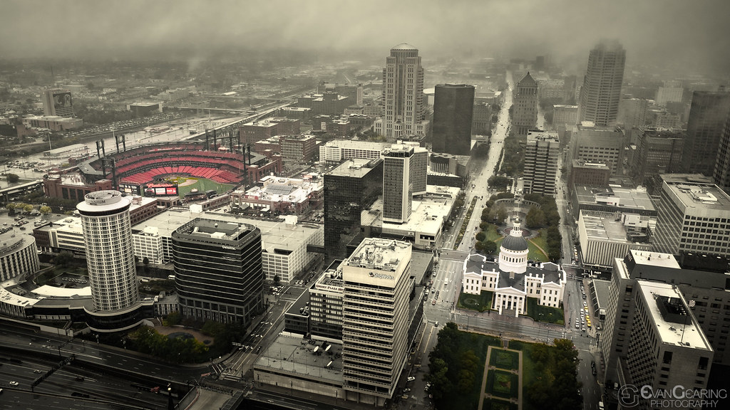 Rainy St Louis