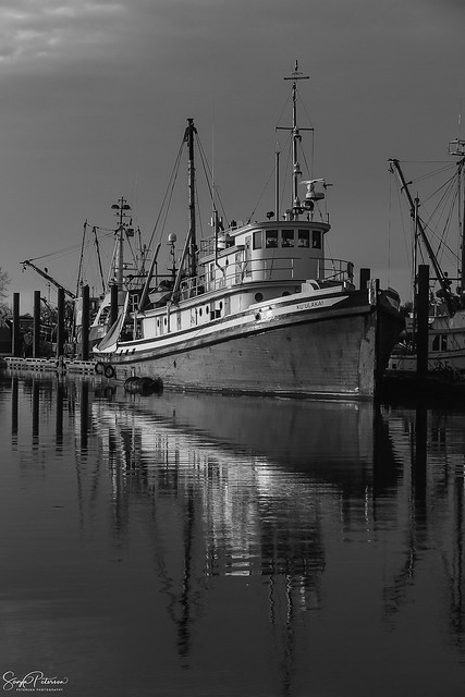 Ku'ulakai Tugboat c. 1944 - Steveston Harbour