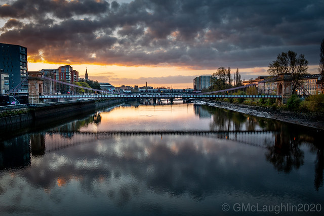 Sunrise over the Clyde