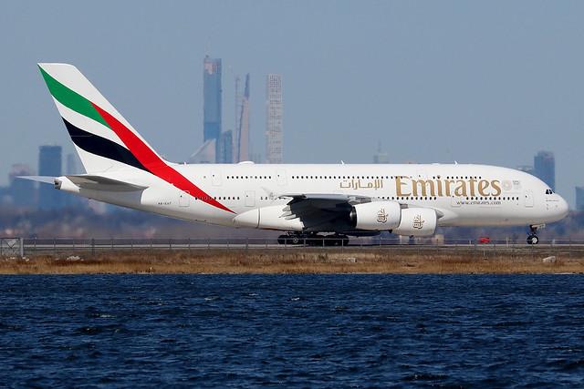 A6-EUT | Airbus A380-842 | Emirates