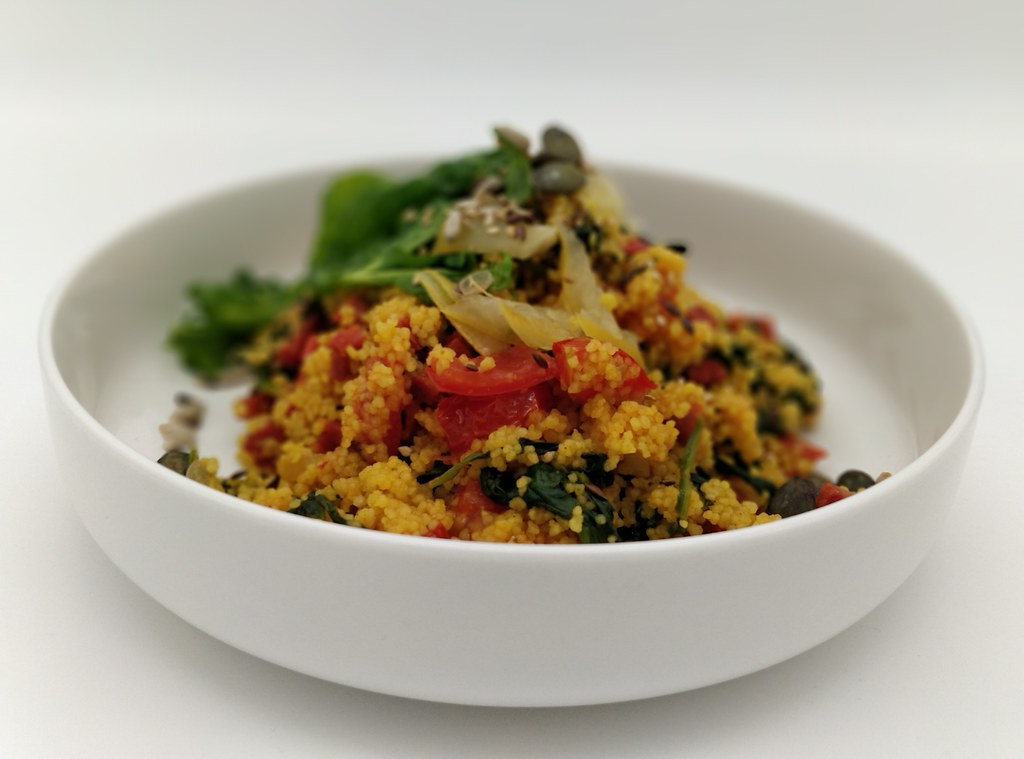 Couscous | Chorizo | Spinat | Salzzitrone