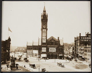 Boston and Providence Railroad Station, Park Square, Boston, Mass., ca. 1905 | by clamshack