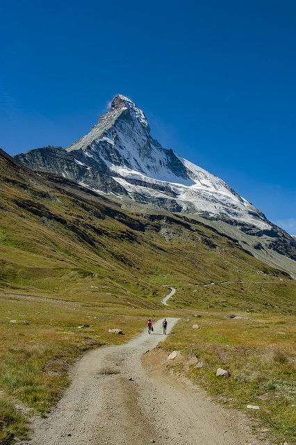 Let's go to see the Matterhorn. Zermatt, Canton of Valais , Switzerland. No. 9504.
