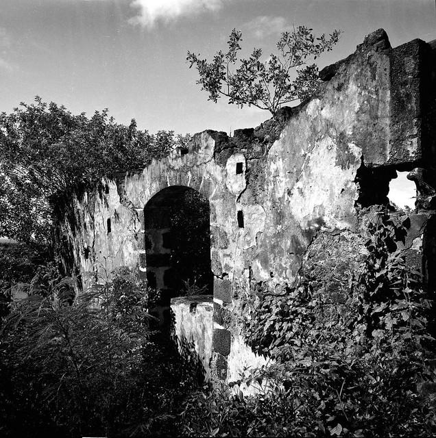 Ruins of old sugar factory