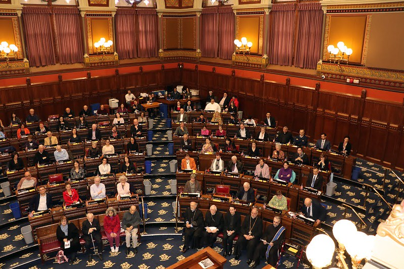 2019 - 104th Armenian Genocide Commemoration at the State Capitol - Hartford, CT