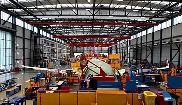 Airbus planta ensamblaje XFW (RD)