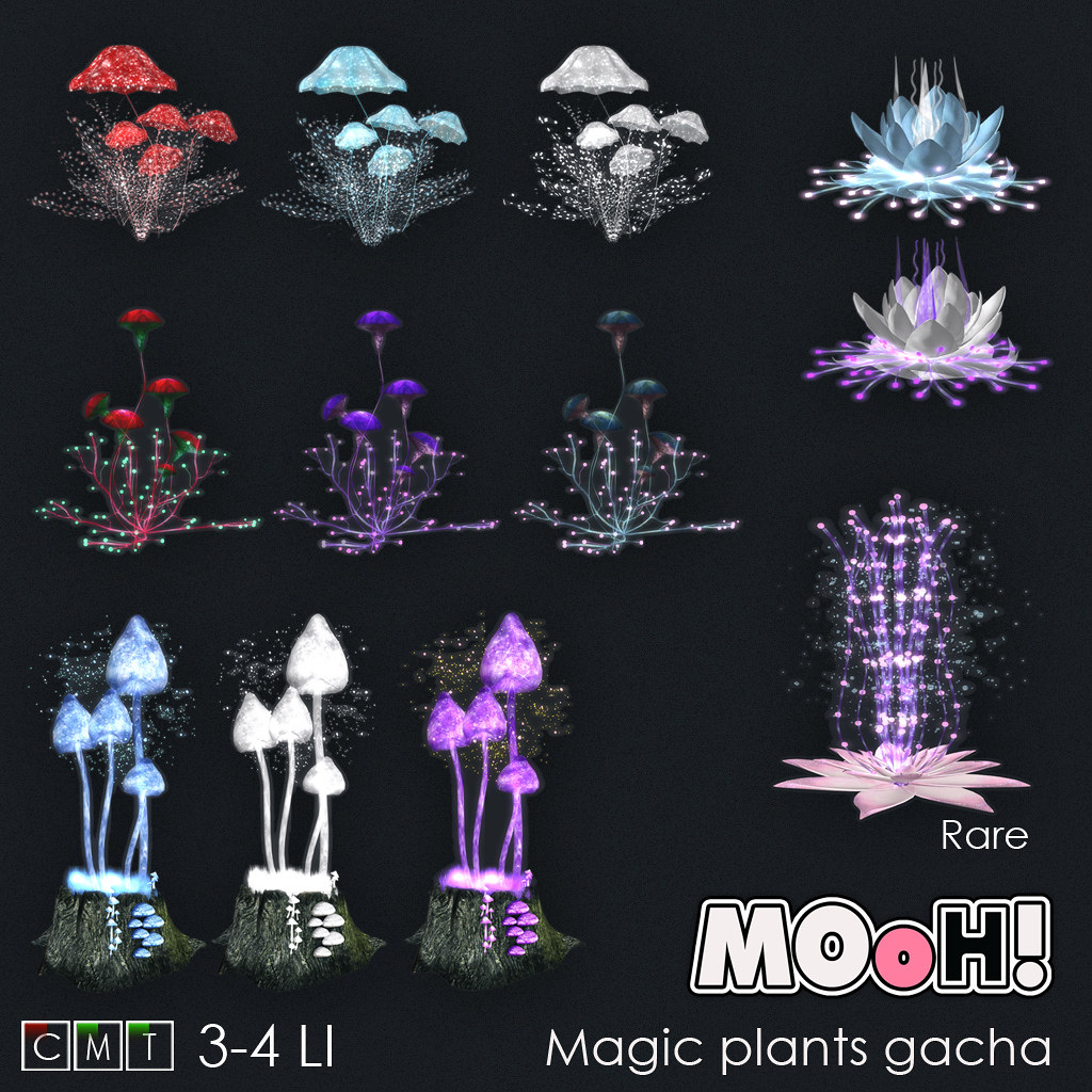 MOoH! Magic plants gacha