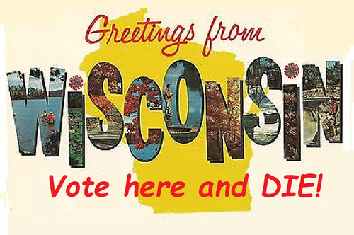 Wisconsin: Voter Suppression by Germ Warfare