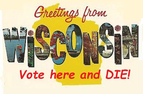 Wisconsin: Voter Suppression by Germ Warfare