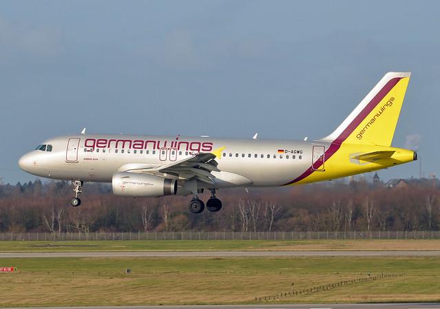 Germanwings Airbus A319-132 D-AGWG