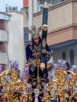 Nazareno en el centro de la ciudad (Viernes Santo 2019)