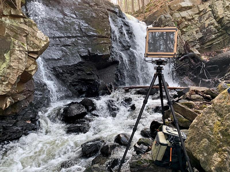 Snook Kill Falls w/8x10 camera