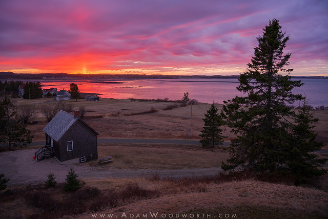 Sunset Over South Lubec