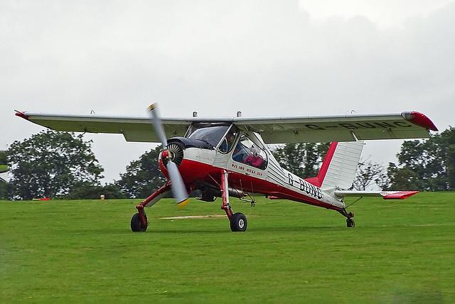 G-BUNC PZL-104 Wilga