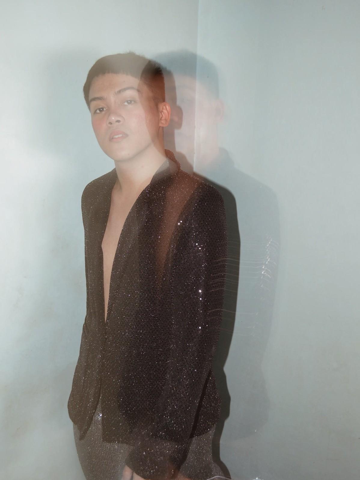 Mark Ontoy_forever21 glitter sequined blazer | BKMRK