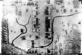 Map Brisbane 1844