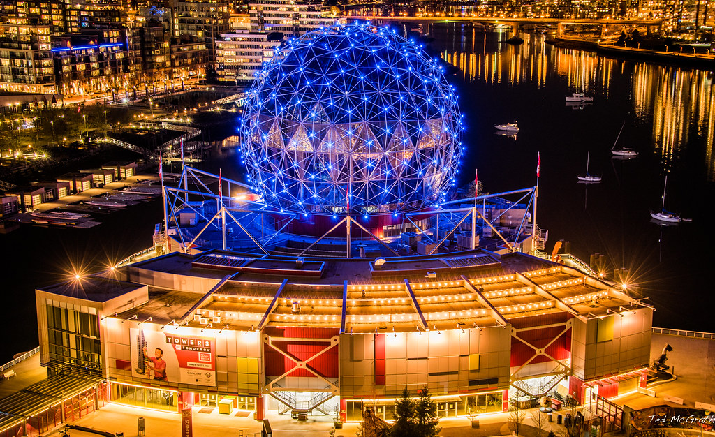 2020 - Vancouver - Science World - COVID-19 Blue