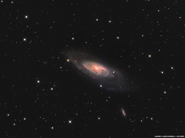 Messier 106 - M 106 - NGC 4258