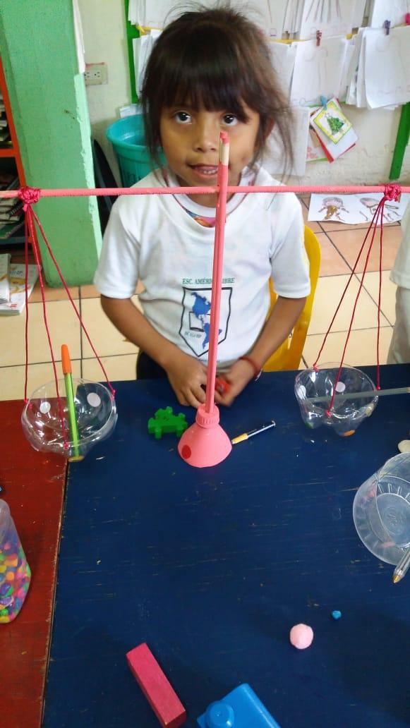 La balanza, 1o Preescolar