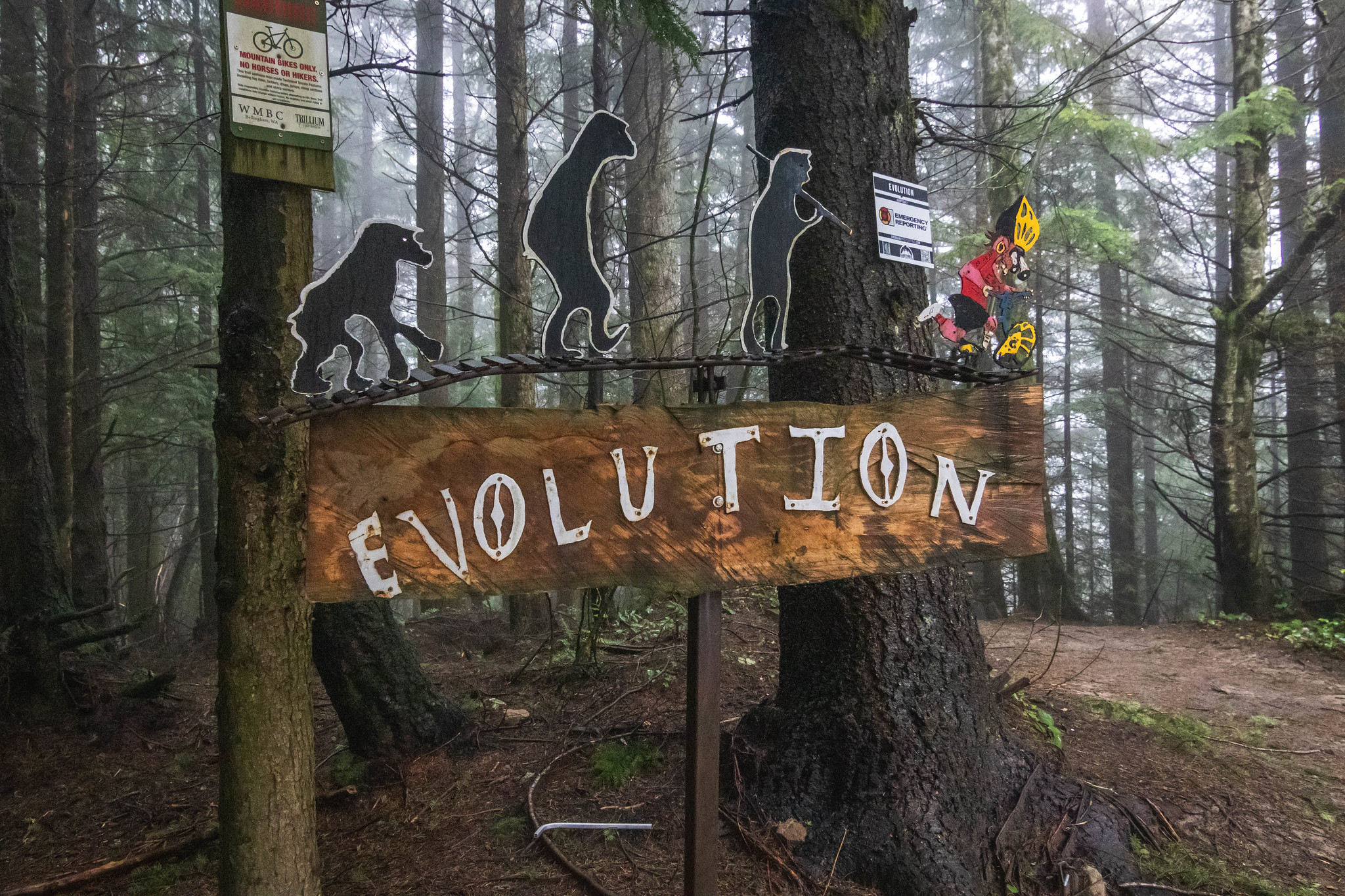 Evolution biking trail