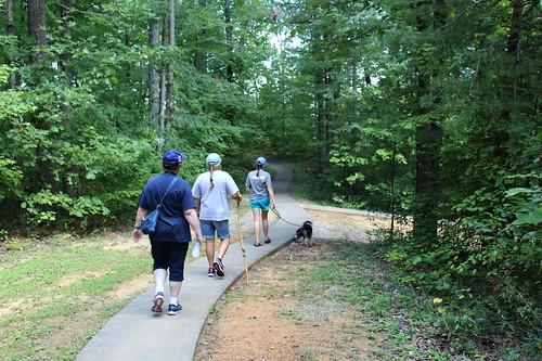 naturalarchscenicarea parkerslake ky kentucky hiking family pets hothumiddays