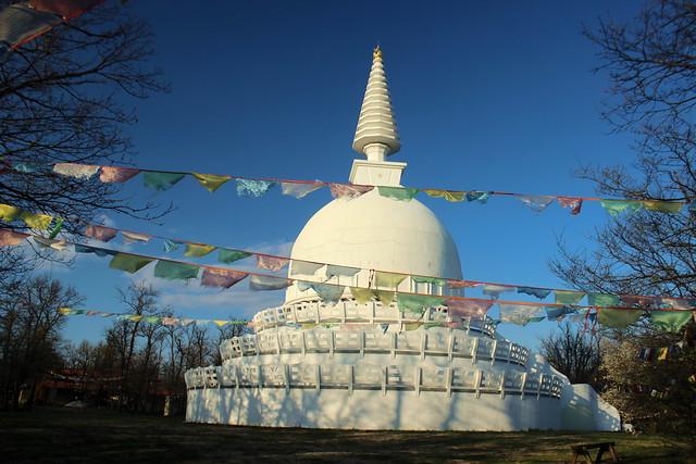 Buddhist stupa / Buddhista sztúpa