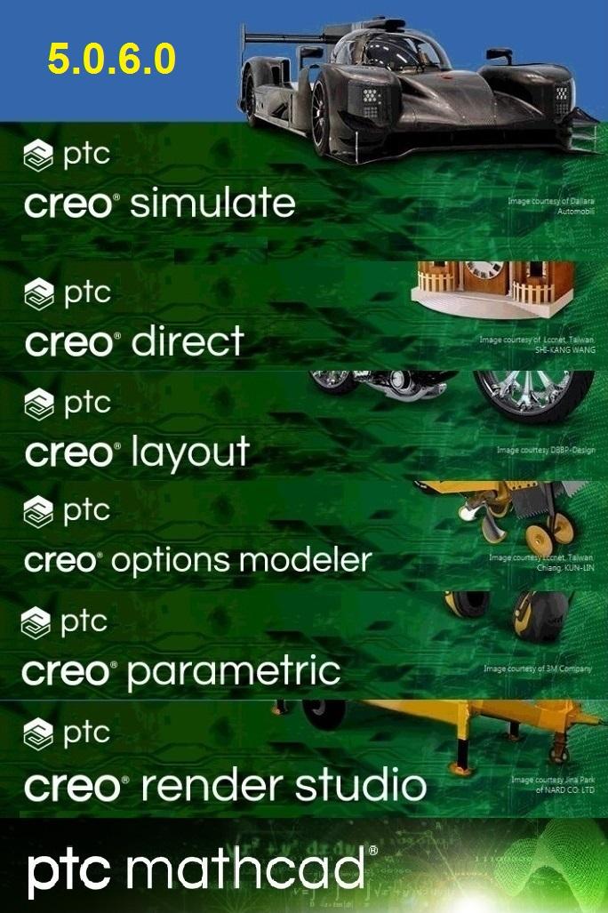 PTC Creo 5.0.6.0 x64 full license