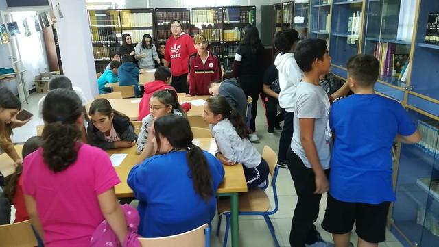 Yincana Día de la Biblioteca 19-20