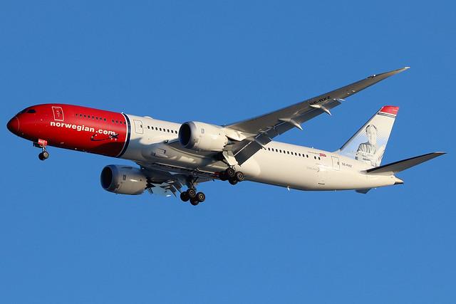 SE-RXZ | Boeing 787-9 Dreamliner | Norwegian Air Sweden