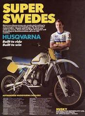 1984 Husqvarna 500 CR Ad