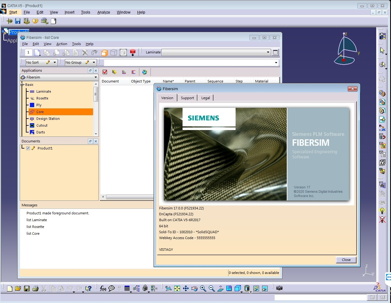 Working with Siemens FiberSIM 17.0.0 for catia v5 full license