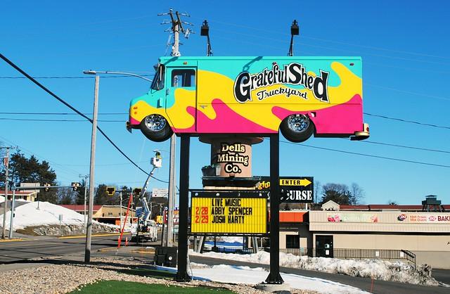 Grateful Shed Truckyard, Wisconsin Dells