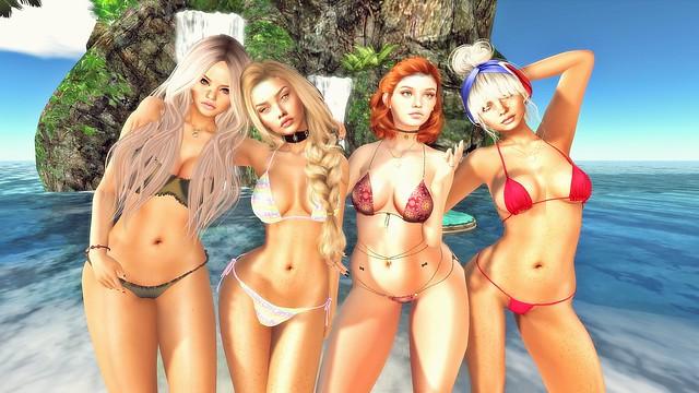 Con las chicas