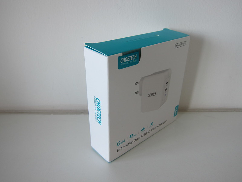 Choetech 100W GaN Dual USB-C Charger - Box