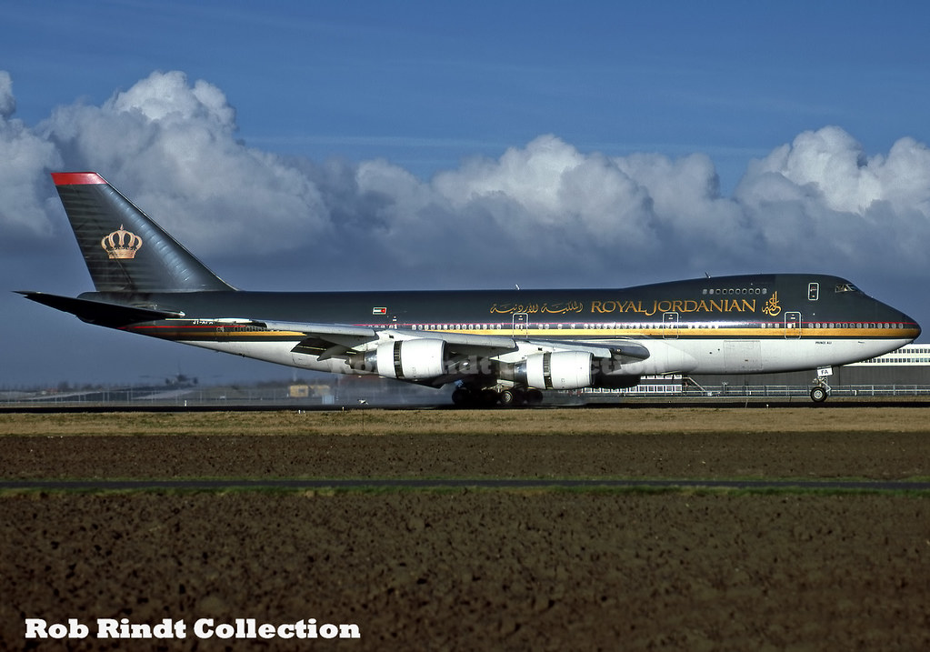 Royal Jordanian Airlines B747-2D3B JY-AFA