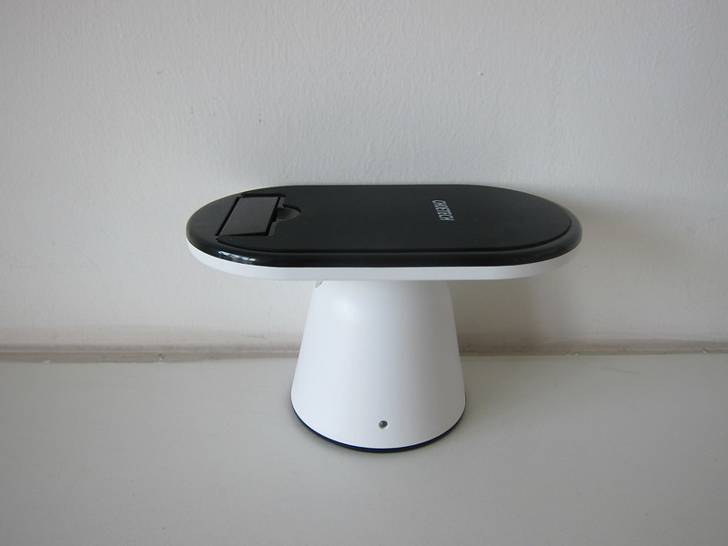 Choetech Adjustable Wireless Charger Stand - Flat - Side