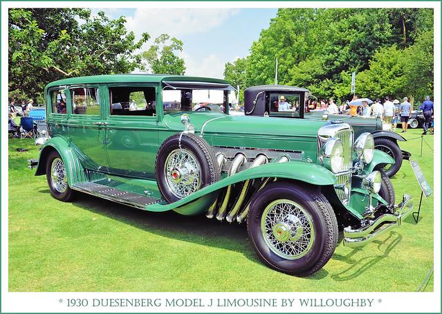1930 Duesenberg Model J Limousine by Willoughby