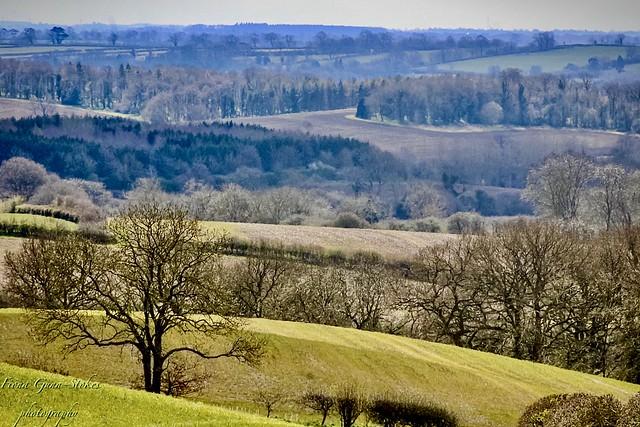 Northamptonshire uplands...