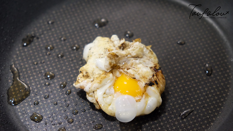 fried egg bag