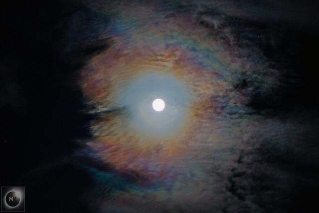 Lunar Corona 22:31 BST 07/04/20